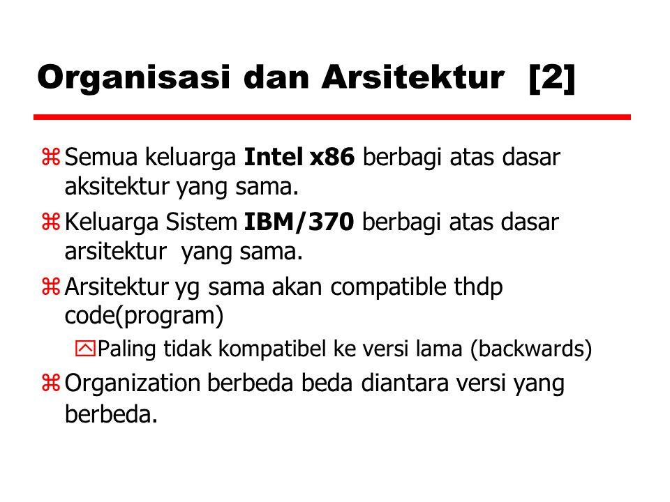 Organisasi dan Arsitektur [2]